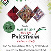 Palestinian Cultural Night- kids tickets 10 &amp under 20