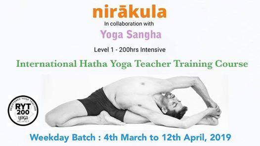 International Hatha Yoga Teacher Training Course [Weekday]