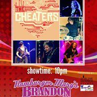 The Cheaters Aug. 4th at Hamburger Marys Brandon