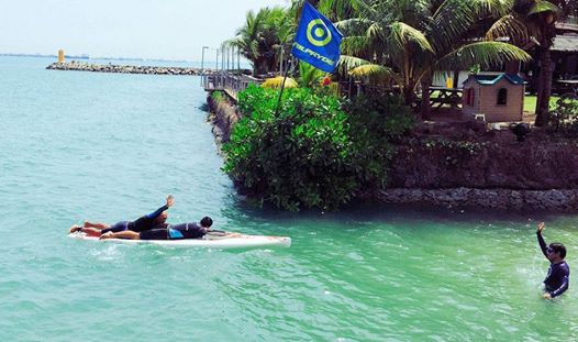 ASI SUP Water Safety Rescue course. Singapore