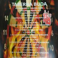 Taberna Buda olleria campeonato open Benidorm
