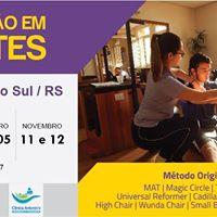 Formao em Pilates  Santa Cruz do Sul  Outubro
