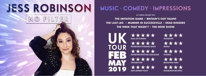 Bristol - Jess Robinson No Filter UK Tour