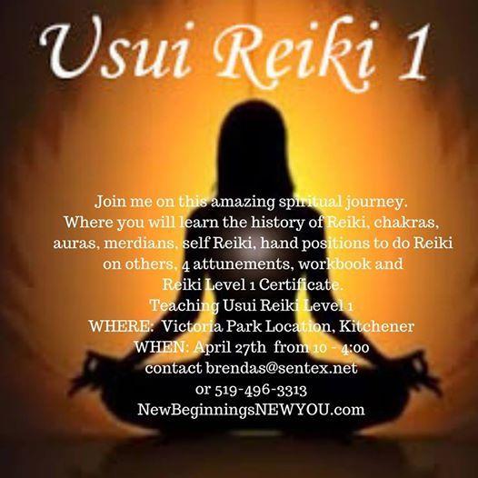 Teaching Reiki Level 1