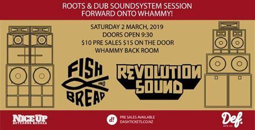 Forward onto Whammy Fish & Bread meets Revolution Sound