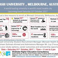 Monash University Admission and Information Session