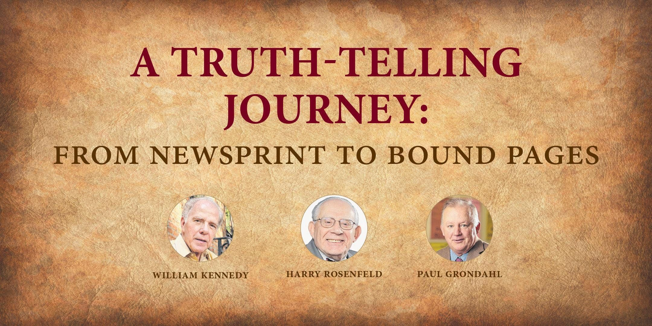 A Truth-telling Journey From Newsprint to Bound Pages