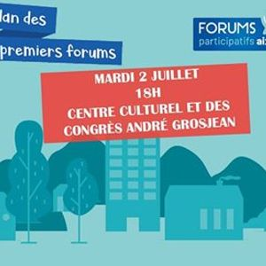 Restitution des forums participatifs aixois