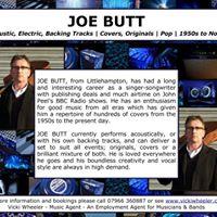 Live Music from Joe Butt