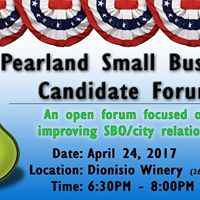 Pearland SBO Candidate Forum