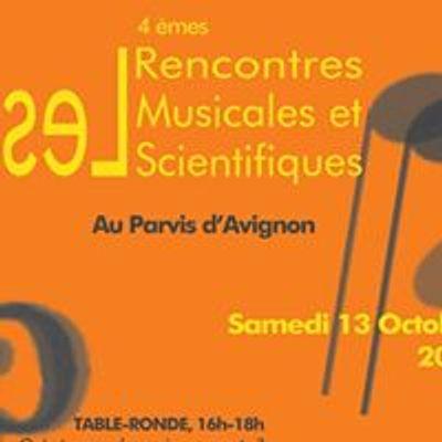 Les Rencontres Musicales et Scientifiques