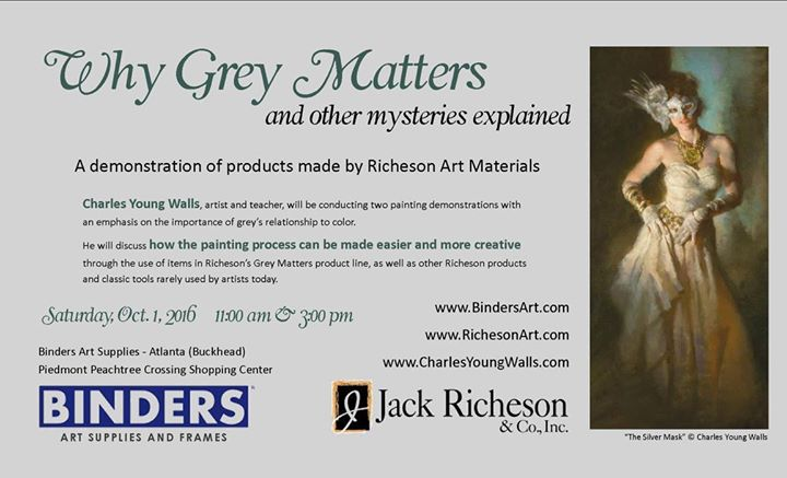 Why Grey Matters with Charles Young Walls at Binders Art Supplies ...