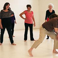 Atelier de danse contemporaine 50 ans et