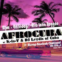 Afrocuba 4th Friday