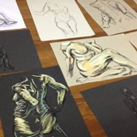 Life Drawing in The Hex