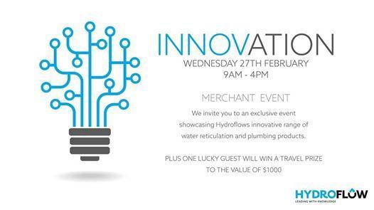 Hydroflow Innovations Event - Merchant Event