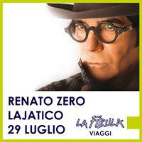 Renato Zero al Teatro del Silenzio di Lajatico
