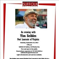 An Evening with Tim Seibles - Poet Laureate of Virginia