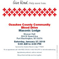 Red Cross Blood and Gary Belzer fundraiser
