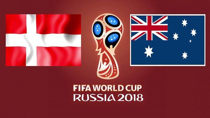 Vm Fodbold  Danmark Vs Australien