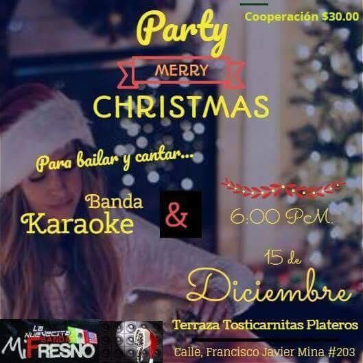 Christmas Party At Terraza Tosticarnitas De Plateros Calle