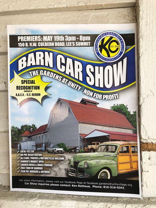 Barn Car Show At The Gardens At Unity Village Lees Summit - Summit car show