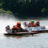 20th Annual Waterford Power on the Pond Hydroplane Race
