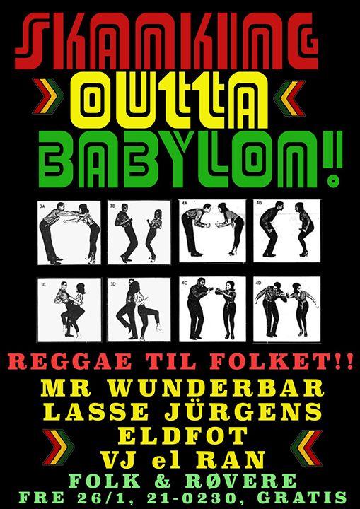 Skanking Outta Babylon p Folk & Rvere