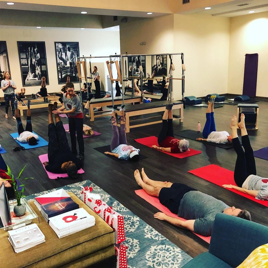 4th Annual Pilates has Heart Event