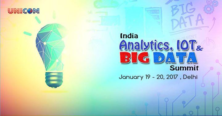 India Analytics IOT & BIG DATA Summit