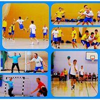 First handball taster session