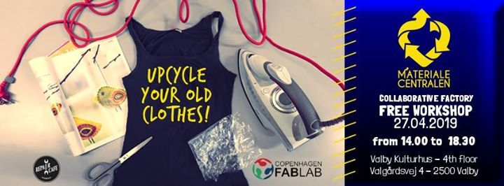 Upcycle Your Old Clothes At Copenhagen Fablab Frederiksberg