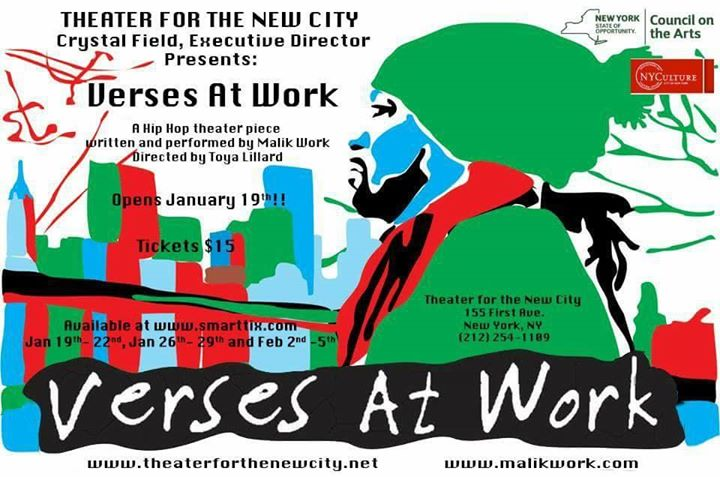 Verses At Work A Hip Hop Theater Production