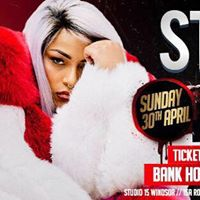 Stefflon DON LIVE at Studio 15 - Windsor - Bank Holiday Sunday 30TH April