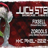 Juicy Stereo showcase at KKC PIXEL w Fixsell &amp Zorools