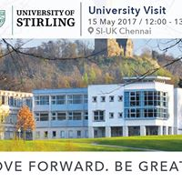 University Of Stirling at SI-UK Chennai