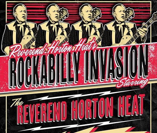 Reverend Horton Heat at Four Quarter Bar