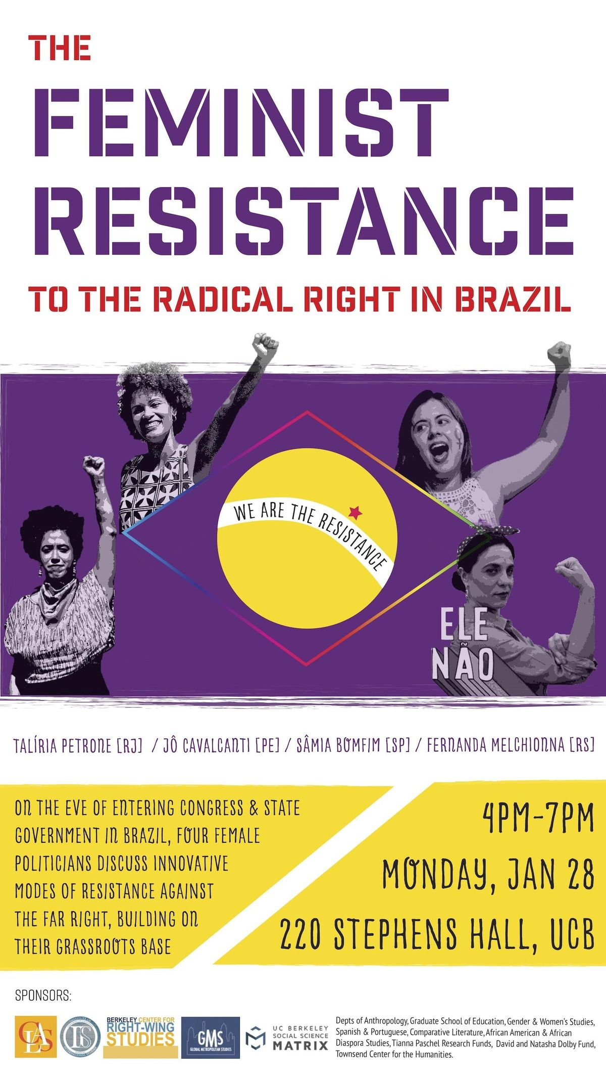 The Feminist Resistance to the Radical Right in Brazil A Forum of Four Brazilian Feminist Political Leaders