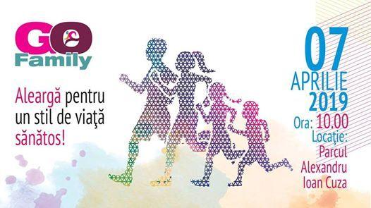 Go Family - Alearga pentru un stil de viata sanatos