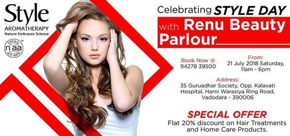 Style Day at Renu Beauty Parlour