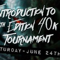 Introduction to 8th Edition 40k. Tournament style
