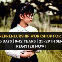 5 Day Entrepreneurship Workshop For Kids (8-12 years)