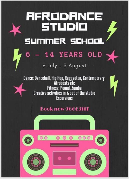 Afrodance Studio Summer School