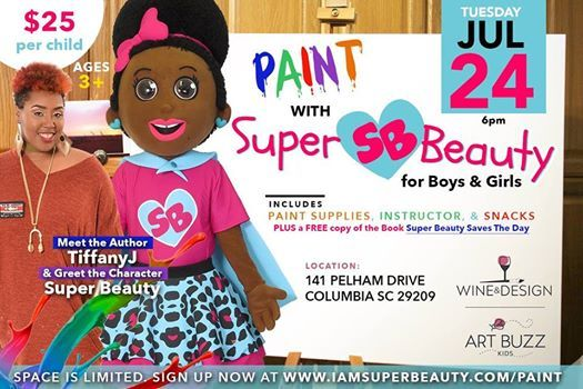 Paint With Super Beauty At Wine Design Columbia Sc Carolina