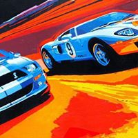Cars Coffee and Carroll Shelby