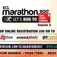 ECL Marathon2017 a Run Agaist Child Labour