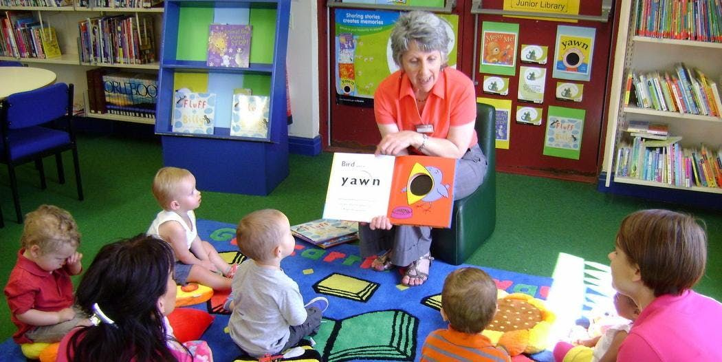 Story Time (Thornton Library)