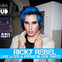 Ricky Rebel LIVE at DTLA Proud Block Party