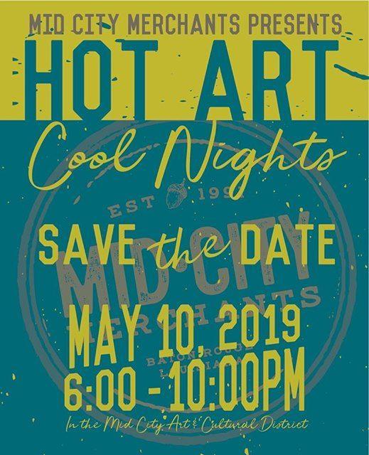 Hot Art Cool Nights 2019 At The Radio Bar Louisiana