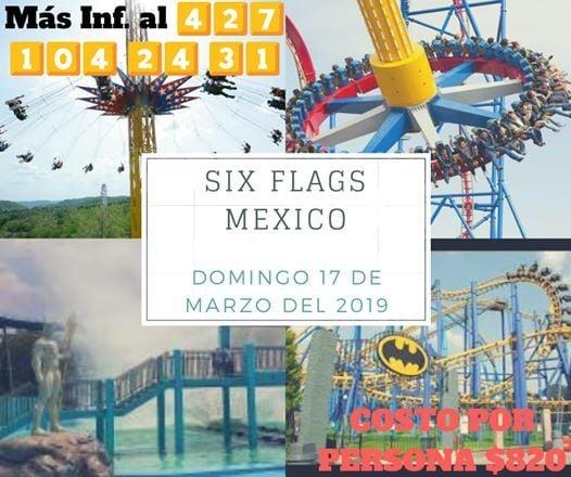 Six Flags Mexico 17 03 19 At San Juan Del Rio Santiago De Queretaro